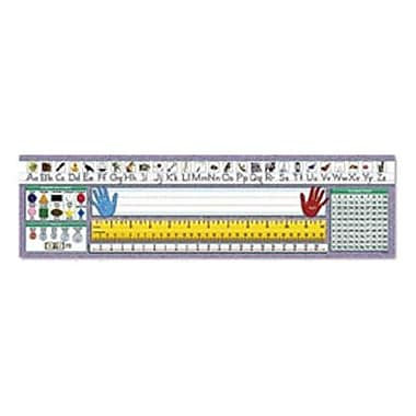 North Star Teacher Resources® 1st - 6th Grades Desk Name Plate, Primary Traditional Manuscript