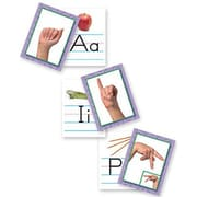 North Star Teacher Resources NS9082 American Sign Language Alphabet Card