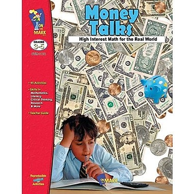 On The Mark Press® Money Talks Using US Currency, Grades 3rd - 5th