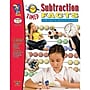 On The Mark Press Timed Subtraction Facts Book,