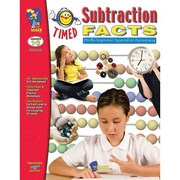 On The Mark Press® Timed Subtraction Facts Book, Grades 1st - 3rd