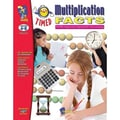On The Mark Press® Timed Multiplication Facts Book, Grades 4th - 6th