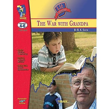 On The Mark Press® The War With Grandpa Literature Link, Grades 4th -6th