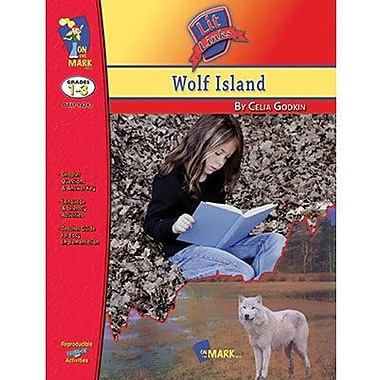 On The Mark Press® Wolf Island Lit Link Book