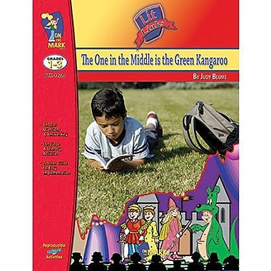 On The Mark Press® The One In The Middle Is The Green Kangaroo Literature Link, Grades 1st -3rd