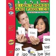 On The Mark Press® Sight words & Phonics Book 1st