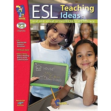 On The Mark Press® ESL Teaching Ideas Book, Grades Kindergarten - 8th