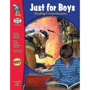 On The Mark Press® Just For Boys Reading Comprehension Book, Grades 3rd - 6th