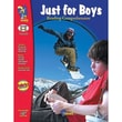 On The Mark Press® Just For Boys Reading Comprehension Book, Grades 6th - 8th