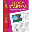 On The Mark Press® Story Starters Book, Grades 4th - 6th