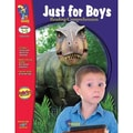 On The Mark Press® Just For Boys Reading Comprehension Book, Grades 1st - 3rd