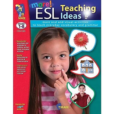On The Mark Press® More ESL Teaching Ideas Book, Grades 1st - 8th