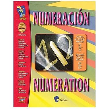 On The Mark Press® Numeracion/Numeration Sanish/English Book, Grades 1st - 3rd