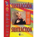 On The Mark Press® Sustraccion/Subtraction Spanish/English Book, Grades 1st - 3rd