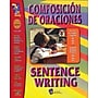 On The Mark Press® Composicion De Oraciones/Sentence Writing