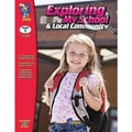 On The Mark Press® Exploring My School & Community Book, Grades 1st