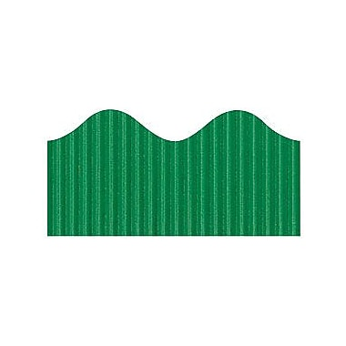 Pacon® Bordette® pre-school - 12th Grades Scalloped Decorative Border, Emerald Green