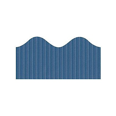 Pacon® Bordette® Pre School - 12th Grades Scalloped Decorative Border, Rich Blue