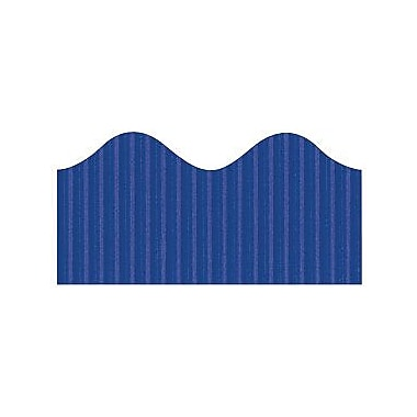 Pacon® Bordette® pre-school - 12th Grades Scalloped Decorative Border, Royal Blue