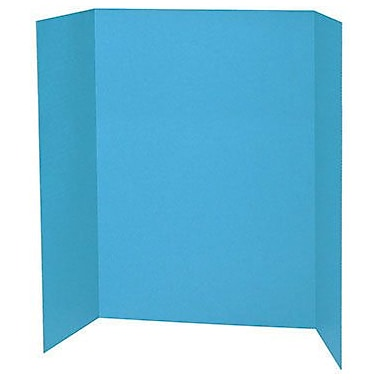 Pacon® Presentation Board, 48in. x 36in., Sky Blue