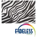 Pacon® Fadeless® Safari Prints™ Roll, Zebra, 48in. x 8'