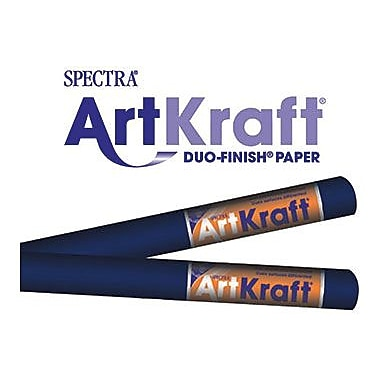 Pacon® Spectra® Art Kraft® Paper Roll, Dark Blue, 48in. x 200'
