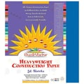 Pacon® SunWorks® Groundwood Construction Paper, Brite Blue, 9in.(W) x 12in.(L), 50 Sheets