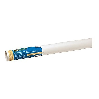 Pacon® GoWrite® Self-Stick Dry-Erase Roll, White, 18in. x 6'