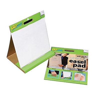 Pacon® GoWrite!® Self-Stick Tabletop Easel Pad, 16in.(H) x 15in.(W)