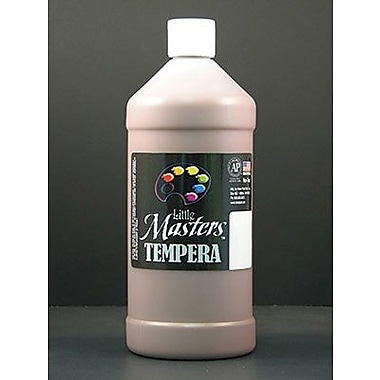 Little Masters Non-toxic 32 oz. Tempera Paint, Brown (203-750)
