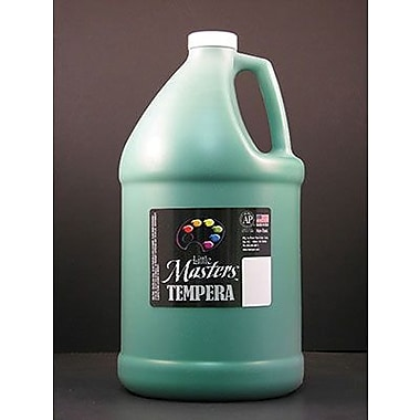 Little Masters Non-toxic 128 oz. Tempera Paint, Green (RPC204745)