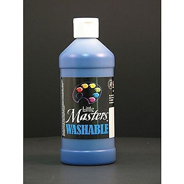 Little Masters Non-toxic 16 oz. Washable Paint, Blue (RPC211730)