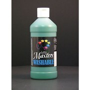 Little Masters Non-toxic 16 oz. Washable Paint, Green (RPC211745)