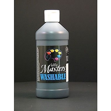 Little Masters® 16 oz. Washable Paint, Black