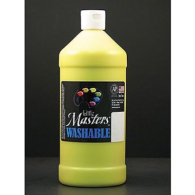 Little Masters Non-toxic 32 oz. Washable Paint, Yellow (RPC213710)
