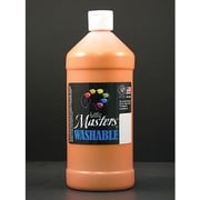 Little Masters Non-toxic 32 oz. Washable Paint, Orange (RPC213715)