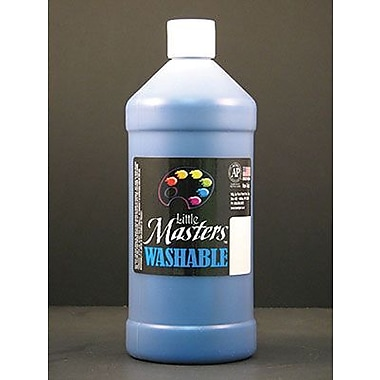 Little Masters Non-toxic 32 oz. Washable Paint, Blue (RPC213730)