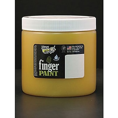 Handy Art® 16 oz. Washable Finger Paint, Yellow