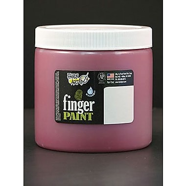 Handy Art Non-toxic 16 oz. Washable Finger Paint, Red (RPC241020)