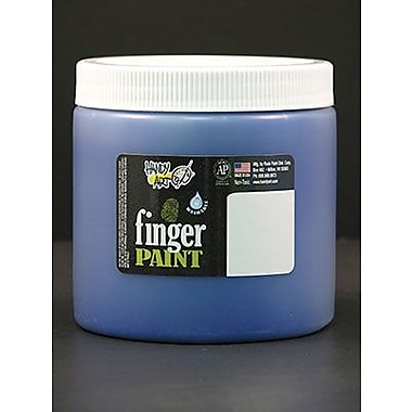 Handy Art® 16 oz. Washable Finger Paint, Blue