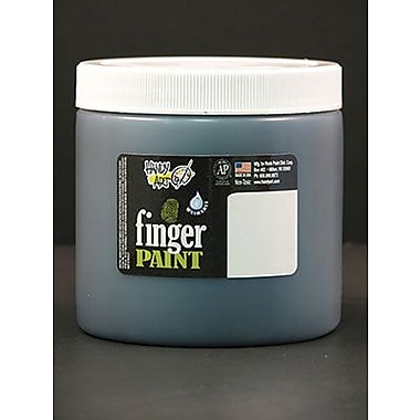 Handy Art® 16 oz. Washable Finger Paint, Black
