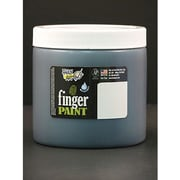 Handy Art Non-toxic 16 oz. Washable Finger Paint, Black (RPC241055)
