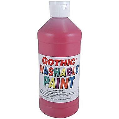 Sargent Art® 16 oz. Washable Finger Tempera Paint, Turquoise
