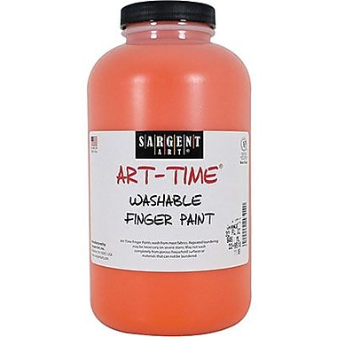 Sargent Art® 32 oz. Washable Finger Paint, Orange