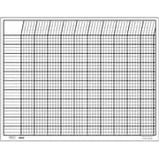 Shapes Etc Horizontal Incentive Chart, White