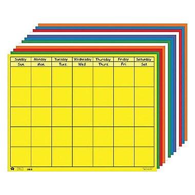 Shapes Etc Horizontal Calendar Set