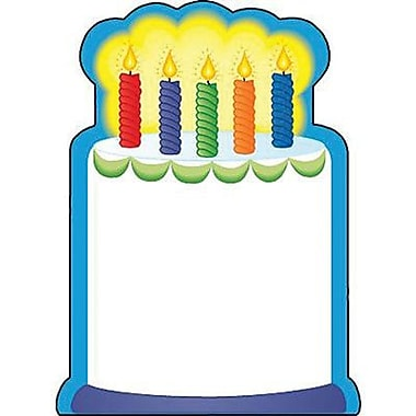 Shapes Etc 3in. x 3in. Birthday Cake Mini Notepad