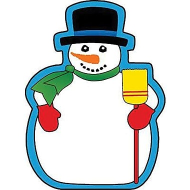 Shapes Etc 3in. x 3in. Snowman Mini Notepad