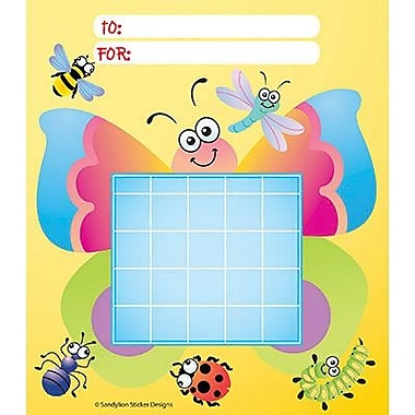 Silver Lead-Sandy Lion Incentive Chart Pad, Bugs