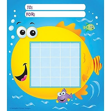 Silver Lead-Sandy Lion Incentive Chart Pad, Fish